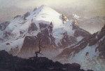 Magic Mountain 1967 31x43 Original Painting - James Fetherolf