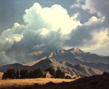 Cloud Invasion 29x34 Original Painting - James Fetherolf
