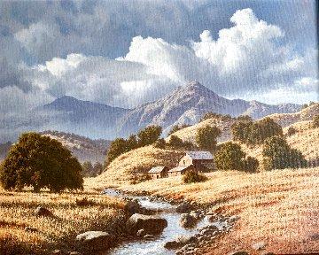 October Landscape 17x23 Original Painting - James Fetherolf