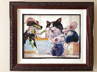 Tea Party Limited Edition Print by Leonard Filgate - 2