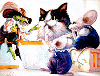 Tea Party Limited Edition Print by Leonard Filgate - 0