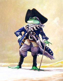 Salty Frog AP 2005 Limited Edition Print - Leonard Filgate