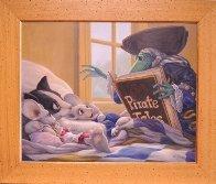 Pirate Tales 1998 24x30 Original Painting by Leonard Filgate - 2
