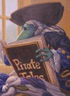 Pirate Tales 1998 24x30 Original Painting by Leonard Filgate - 4