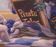 Pirate Tales 1998 24x30 Original Painting by Leonard Filgate - 6