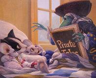 Pirate Tales 1998 24x30 Original Painting by Leonard Filgate - 0
