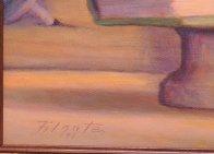 Writer 1997 18x24 Original Painting by Leonard Filgate - 6