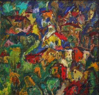 Picturesque Hill 2011 18x19 Original Painting - Ivan Filichev