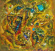 Forms Observance 1990 18x20 Original Painting by Ivan Filichev - 0