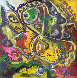 Thoughts 1990 19x19 Original Painting by Ivan Filichev - 0