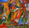 Christmas 2014 9x9 Original Painting by Ivan Filichev - 1