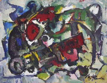 Shaman 2011 14x19 Original Painting by Ivan Filichev