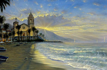 Costa Azul AP 2006 Embellished Limited Edition Print by Robert Finale