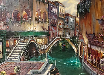 Venice Romance 2011 w Drawing Limited Edition Print by Robert Finale