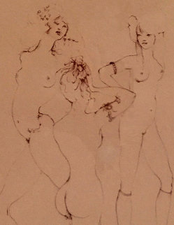 Three Waifs 1970 Limited Edition Print by Leonor Fini