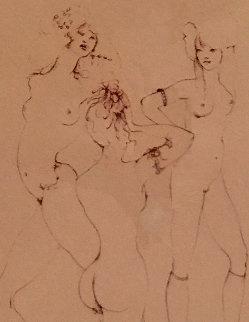 Three Waifs 1970 Limited Edition Print by Leonor Fini