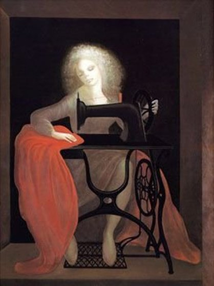 Sewing Machine 1979 Limited Edition Print by Leonor Fini