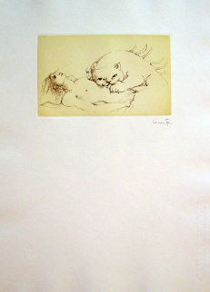 Cat Nap 1976 Limited Edition Print by Leonor Fini