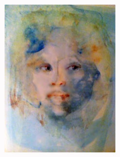 Visage Blue 1986 Limited Edition Print by Leonor Fini
