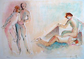 Untitled Lithograph 1980 Limited Edition Print - Leonor Fini
