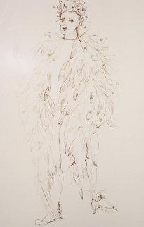 l'Ange Limited Edition Print - Leonor Fini