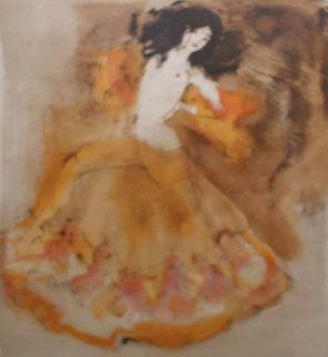 Untitled Lithograph 1969 Limited Edition Print - Leonor Fini