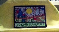 In the Last Days 2000 Original Painting by Howard Finster - 1