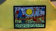 In the Last Days 2000 Original Painting by Howard Finster - 5