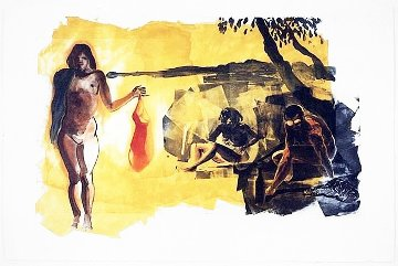 Rays 1989 35x54 Super Huge  Limited Edition Print - Eric Fischl