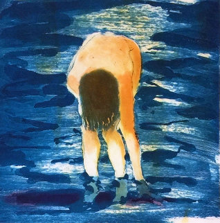 Untitled (Boy in Blue Water) 1988 Limited Edition Print by Eric Fischl