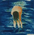 Untitled (Boy in Blue Water For the Brooklyn Academy of Music) 1988 Limited Edition Print - Eric Fischl
