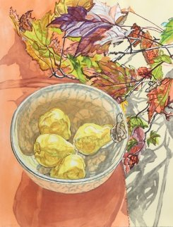 Still Life With Pears Limited Edition Print by Janet Fish