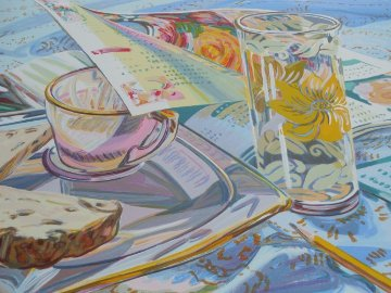 Ordering Spring 1996  Limited Edition Print - Janet Fish