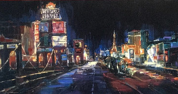 City of Lights Limited Edition Print by Michael Flohr