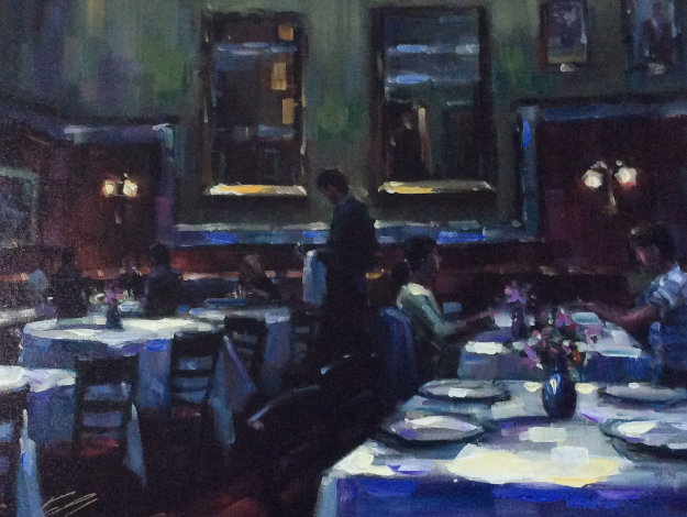 Soul Mates Embellished 2009 Limited Edition Print by Michael Flohr