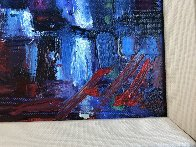 Shaken With Two Olives 2009 22x22 Original Painting by Michael Flohr - 2