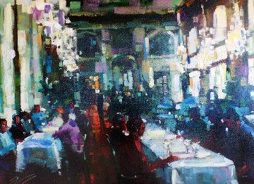 Crystal Cafe 2006 Embellished Limited Edition Print - Michael Flohr