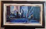New York Sun 2006 37x61 Super Huge Original Painting by Michael Flohr - 1