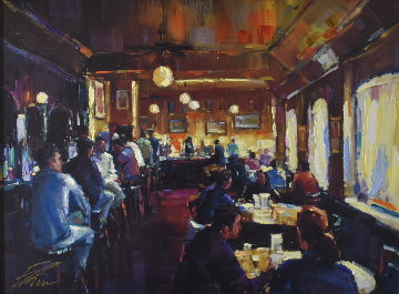 Happy Hour 2008 Embellished Limited Edition Print by Michael Flohr