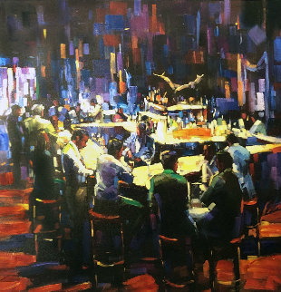 Stock Talk 2010 Limited Edition Print by Michael Flohr