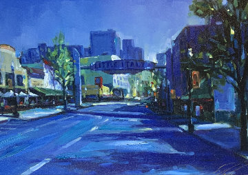 Little Italy 2007 Embellished Limited Edition Print by Michael Flohr