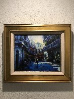 Quarter Past Embellished Limited Edition Print by Michael Flohr - 1