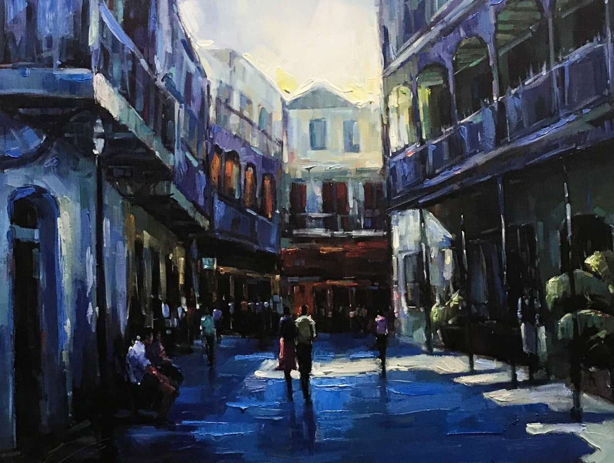 Quarter Past Embellished Limited Edition Print by Michael Flohr