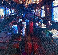 Untitled Painting 2010 38x38 Huge Original Painting by Michael Flohr - 0