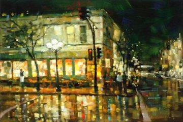 City Reflections 2005 Limited Edition Print - Michael Flohr