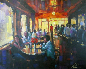 Sunset Grill  Limited Edition Print - Michael Flohr