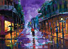 Royal Street, New Orleans Embellished 2004 Limited Edition Print by Michael Flohr - 0