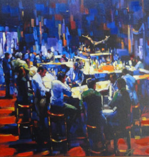 Stock Talk AP 2005  Limited Edition Print by Michael Flohr
