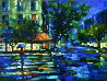 Parisian Nights Embellished Limited Edition Print by Michael Flohr - 0