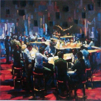 Stock Talk 2005  Limited Edition Print by Michael Flohr